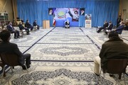 تصاویر/ دیدار سرگروههای حلقههای صالحین با امام جمعه یزد