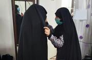 اهدای ۳۰ قطعه چادر به بانوانی که حجاب کامل را برگزیدند