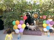 تصاویر/ جشن ولادت حضرت زهرا (س) در مدرسه علمیه خواهران جم بوشهر