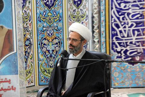 تصاویر/ آئین تجلیل از هیئتیها و مداحان پیشکسوت در عرصه انقلاب اسلامی خراسان شمالی