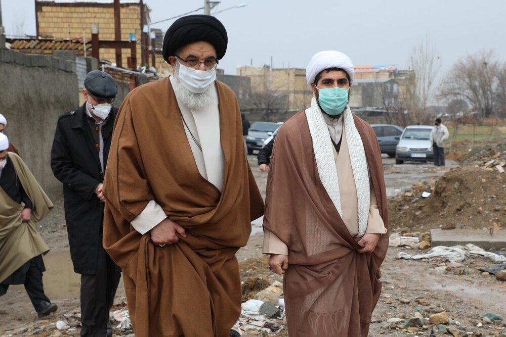 بازدید امام جمعه کرج از مناطق محروم جعفرآباد