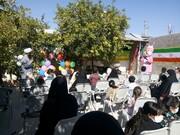 فیلم| پویش شیر بچه های علوی در مدرسه الزهرا(س) یزد
