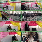 تصاویر/ مراسم بزرگداشت مقام زن و دهه فجر در مدرسه فاطمیه (س) خورموج