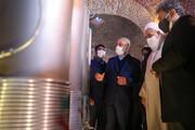 تصاویر / افتتاح نمایشگاه دائمی دستاوردهای سازمان انرژی اتمی با حضور امام جمعه قزوین