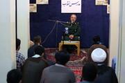 تصاویر/ مراسم گرامیداشت ایام الله دهه فجر در مدرسه علمیه شهید صدوقی فاز ۵