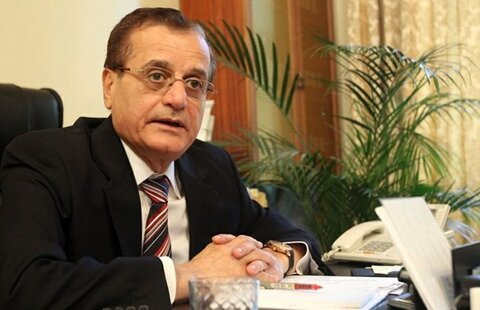 عدنان منصور وزیر اسبق امور خارجه لبنان