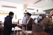 تصاویر / تجلیل از طلاب ممتاز مدرسه علمیه امیرالمومنین( ع) تبریز