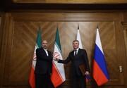 سفر رئیس مجلس شورای اسلامی به روسیه و تقدیم نامه رهبر به مسکو