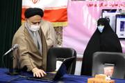 گزارشی از آیین رونمایی از بخش بانوان سایت خبرگزاری حوزه