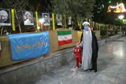 تصاویر / جشن انقلاب به مناسبت چهل و دومین سالگرد پیروزی انقلاب اسلامی در مدرسه علمیه فیضیه قم