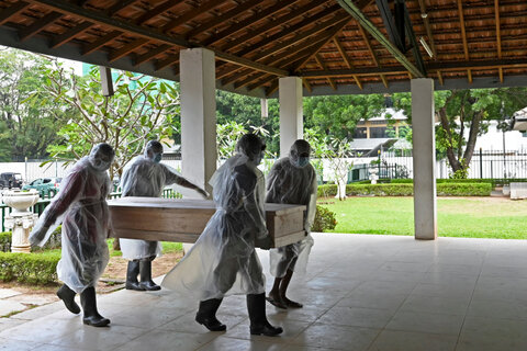The Muslim Council of Britain call on the UN to halt forced cremations in Sri Lanka