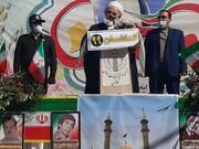 راهپیمایی موتوری و خودوری ۲۲ بهمن کاشان با رمز یا «فاطمه الزهرا(س)»