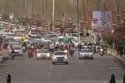 تصاویر/ راهپیمایی خودرویی ۲۲ بهمن در ماکو