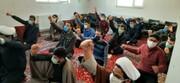 تصاویر/ مراسم گرامیداشت ۲۲ بهمن در مدرسه سفیران هدایت بیجار