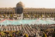 تصاویر/ راهپیمایی متفاوت ۲۲ بهمن در اصفهان