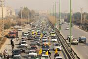 تصاویر/ راهپیمایی خودرویی یوم الله ۲۲ بهمن مردم اصفهان