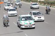فوتو کلیپ |  راهپیمایی باشکوه مردم قم در ۲۲ بهمن ۹۹