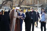 تصاویر / مسئولان همدانی پای درد دل مردم در حاشیه راهپیمایی ۲۲ بهمن