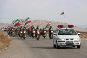 تصاویر/ راهپیمایی خودرویی ۲۲ بهمن در شهرستان ابرکوه