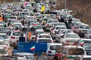 تصاویر / راهپیمایی خودرویی ۲۲ بهمن در قزوین