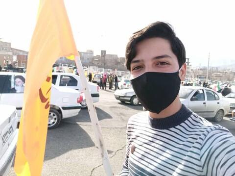 تصاویر/ راهپیمایی یوم الله 22 بهمن در سنندج (2)