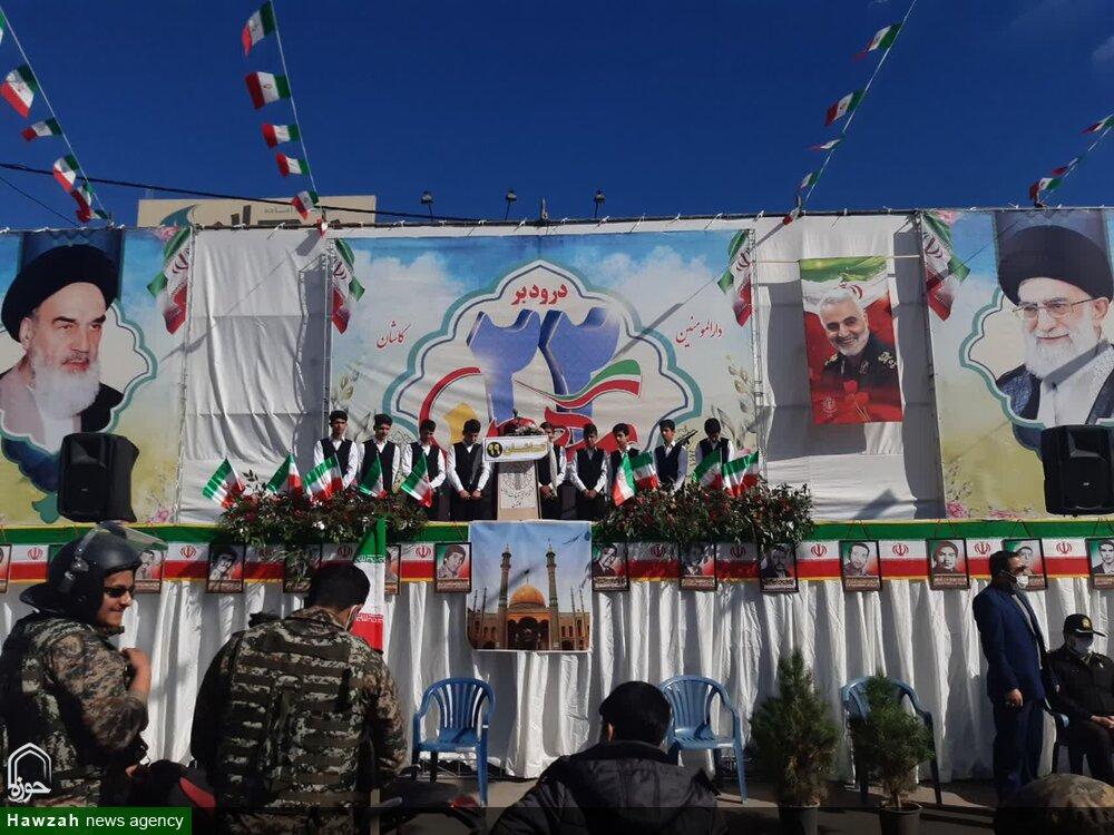 تصاویر/ حضور پرشور مردم کاشان دریوم الله 22 بهمن