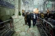 ممثل بابا الفاتيكان يتشرف بزيارة مرقد الإمام أمير المؤمنين (ع) ويشيد بقدسيته