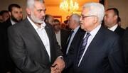 کامیاب مصالحتی مذاکرات کے بعد ھنیہ اور محمود عباس میں بات چیت