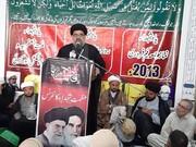 ہم شیعہ سنی اتحاد پر یقین رکھتے ہیں، ملت جعفریہ کسی فرقہ کی تکفیر کے قائل نہیں، علامہ احمد اقبال رضوی