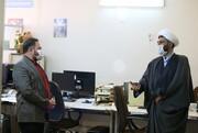 بازدید مدیرعامل خبرگزاری رسا از خبرگزاری حوزه