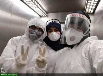 ۵۰۰ بانوی طلبه مازندرانی در خط مقدم جبهه سلامت   تغسیل و تدفین اموات کرونایی در ایستگاه خطر