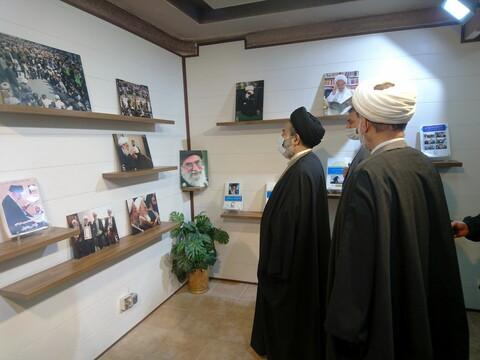 بازدید نماینده ولی فقیه در امور حج و زیارت از رسانه رسمی حوزه