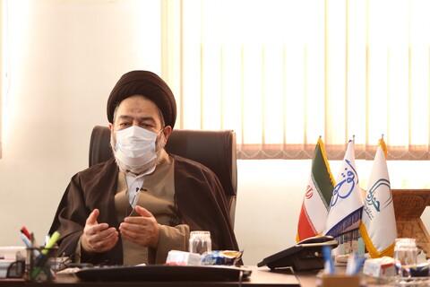 تصاویر/ بازدید نماینده ولی فقیه در حج و زیارت از رسانه رسمی حوزه