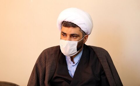 تصاویر/ بازدید مدیر عامل خبرگزاری رسا از رسانه رسمی حوزه