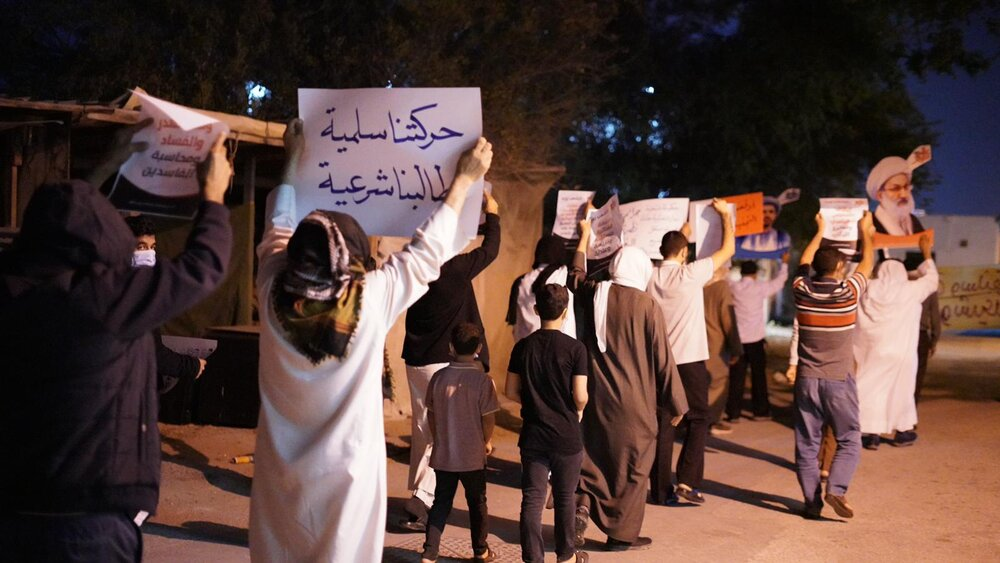 در شب دهمین سالگرد انقلاب بحرین چه گذشت