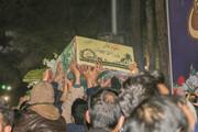تصاویر/ مراسم وداع با پیکر شهدای گمنام در گلستان شهدای اصفهان