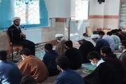 تصاویر/ میثاق طلبگی ۳ دوره توجیهی، تربیتی طلاب جدید الورود حوزه علمیه کرمانشاه