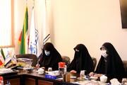 تصاویر/ نشست جمعی از بانوان فعال در رسانه و فضای مجازی با مسئولان مرکز رسانه و فضای مجازی حوزههای علمیه