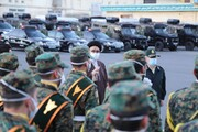 تصاویر /  تقدیر از تلاشهای حافظان نظم و امنیت در تبریز
