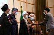 فیلم | نشست صمیمی کارکنان پشتیبانی حوزههای علمیه با آیتالله اعرافی