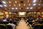 نشست صمیمی کارکنان پشتیبانی حوزه های علمیه با آیت الله اعرافی