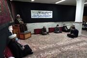 تصاویر/ مراسم بزرگداشت مرحوم آیت الله مصباح  یزدی در کرمانشاه