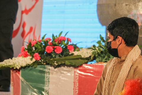 تصاویر/ مراسم وداع با پیکر مطهر شهیدان گمنام