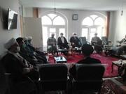تصاویر / جلسه شورای آموزش مدرسه علمیه طالبیه تبریز
