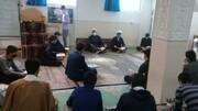 تصاویر/ محفل انس با قرآن کریم طلاب مدرسه علمیه امام صادق (ع) بیجار