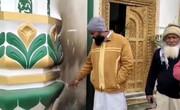 آتشافروزی عمدی در مسجدی در پنجاب هندوستان