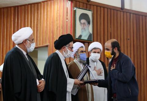 تصاویر/ آیین اختتامیه و مراسم تقدیر از برگزیدگان هفتمین جشنواره علامه حلی استان قم