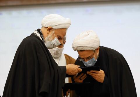 تصاویر/ مراسم معارفه مدیر جدید موسسه آموزشی و پژوهشی امام خمینی(ره)