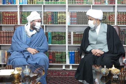 دکتر شهریاری در دیدار با امام جمعه اهل سنت روانسر