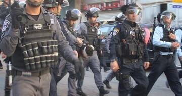 Israeli occupation police beat Palestinian near Aqsa Mosque